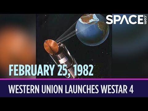 OTD in Space – February 25: Western Union Launches Westar 4 Communications Satellite