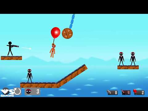 Stickman APK: Stickman Destruction Warrior 2 |  Stickman Shooting - Android GamePlay 2018 # HD Ep7