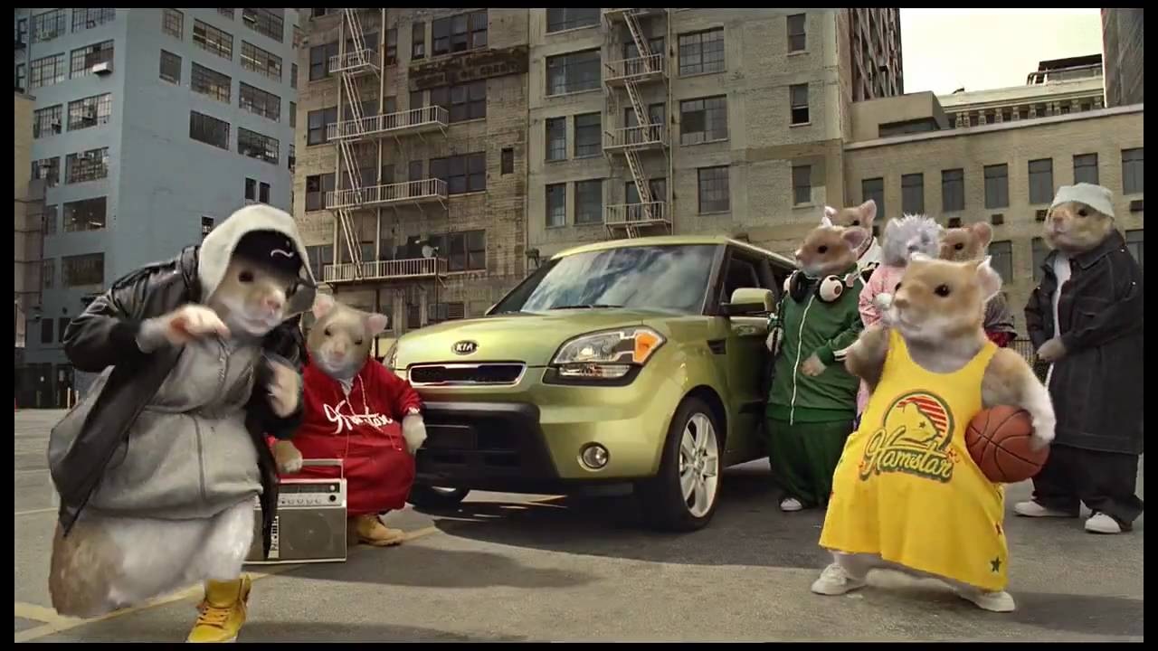 Kia Soul Commercial >> 2010 Kia Soul Hamsters commercial 2 - YouTube