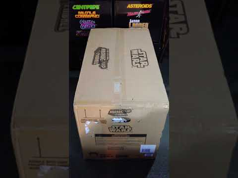 Star Wars Arcade1UP Pinball what's in the box #shorts from scarfwaverly