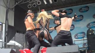 Erika Jayne Live @Northalsted Market Days Part:2