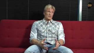 Dolph Lundgren Behind The Scenes Interview