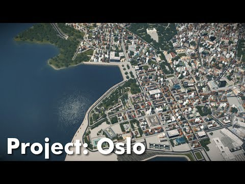 Cities: Skylines: Project Oslo (Part 3) - City Center