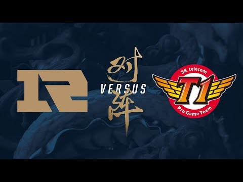 RNG vs. SKT | Semifinals Game 1 | 2017 World Championship | Royal Never Give Up vs SK telecom T1