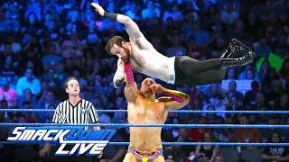 Hype Bros vs Vaudevillains - SmackDown Tag Team Title Tournament Match: SmackDown Live, Aug 30, 2016