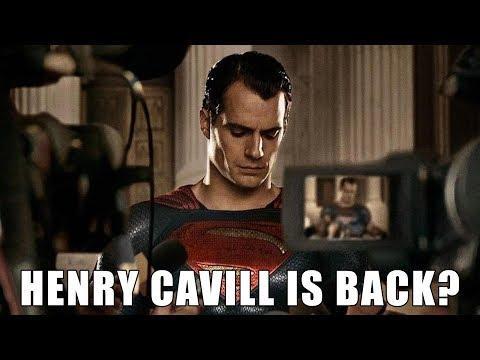 Henry Cavill Return As Superman | Henry Cavill's Comeback | Henry Cavill's Future As Superman