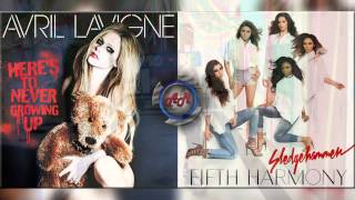 Video Avril Lavigne Vs Fifth Harmony - Here's To Never Use a Sledgehammer (Mashup) download MP3, 3GP, MP4, WEBM, AVI, FLV Juli 2018
