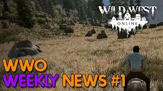WILD WEST ONLINE - Weekly News #1 Alpha Delayed - Menu Changes & More