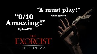 """PSVR: The Exorcist: Legion VR - """"Chapters 1, 2 & 3"""" Gameplay Trailer 