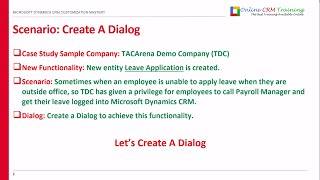 Microsoft Dynamics CRM Dialogs - How to Create Dialogs | Dialogs with Microsoft Dynamics CRM