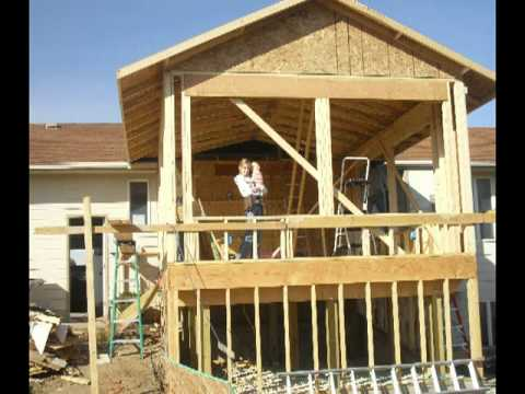 2010 construction on new sunroom