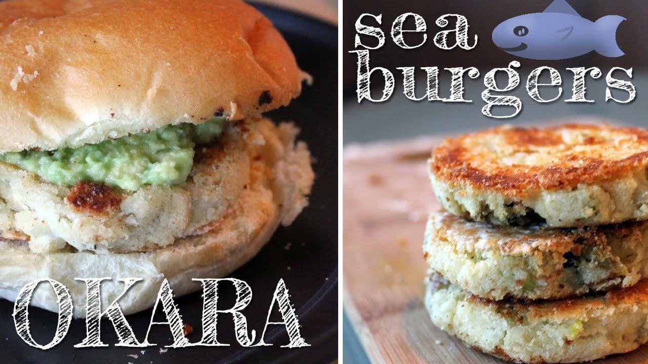 Okara Sea Burgers [gluten-free + vegan]