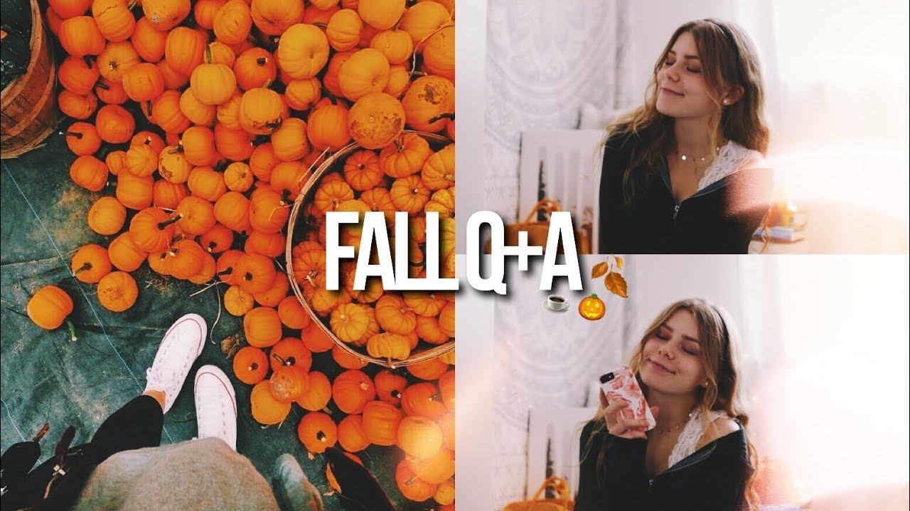 SPOOKY FALL TWITTER Q+A! scary storytime, fall outfits + more!! 8