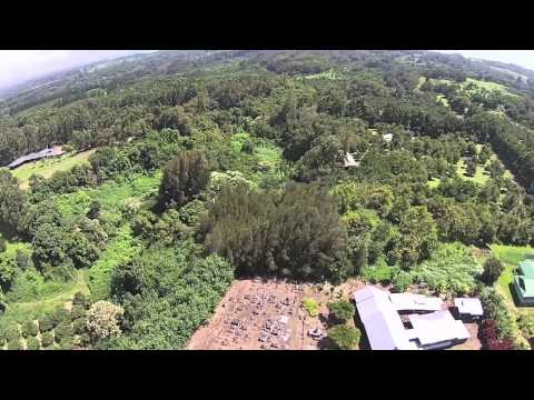 Agriculture in Hawaii with Governor Neil Abercrombie from a DJI V+