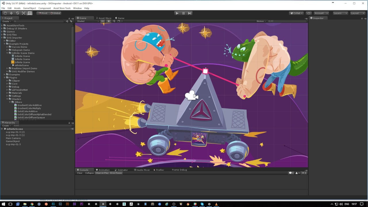 SVG Importer | Vector Graphics | Unity UI Supported