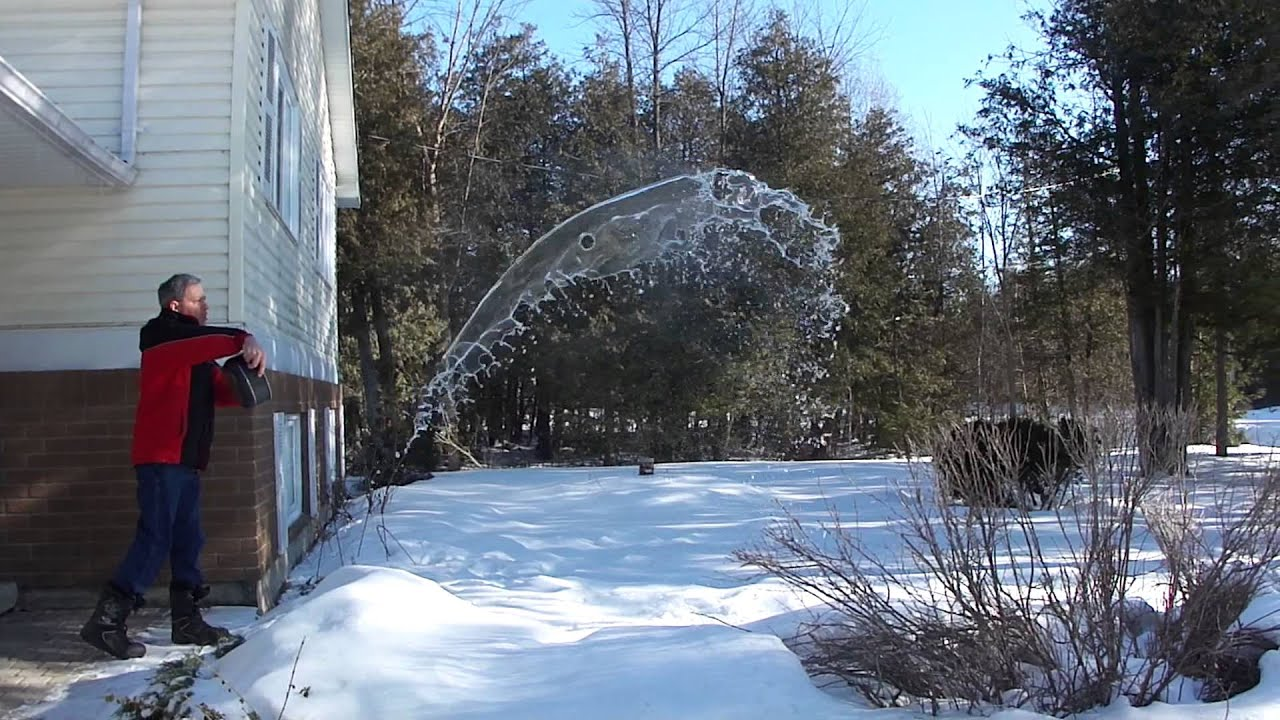 Hot water freezes faster than cold water? - YouTube