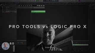PRO TOOLS vs LOGIC PRO X FOR MEDIA COMPOSITION