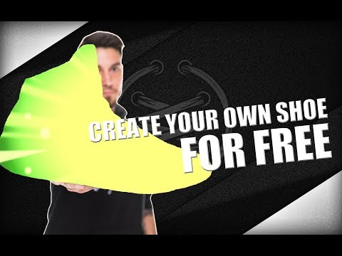 CREATE YOUR OWN SHOE FOR FREE