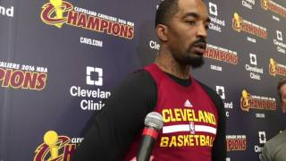 J.R. Smith not worried about Cavs' long layoff