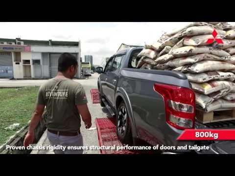 Triton Ladder Frame Durability Test Video