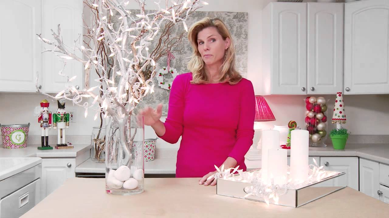 Ideas For Decorating With White Christmas Lights