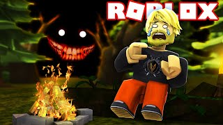 WHY DID I GO ON THE CAMPING TRIP?! 🌳👹🌳:: Roblox Camping