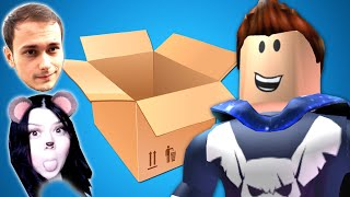 GUESS WHAT'S FAILING! We open mysterious BOXES! Roblox