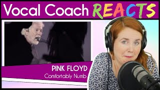 Vocal Coach Reacts To Pink Floyd - Comfortably Numb Live In Pompeii 2016