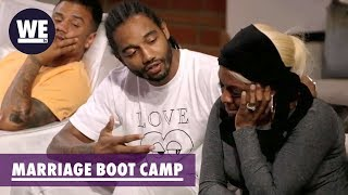 Karl Apologizes to Lil Mo | Marriage Boot Camp: Hip Hop Edition