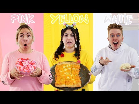 USE ONLY ONE COLOR TO COOK CHALLENGE!