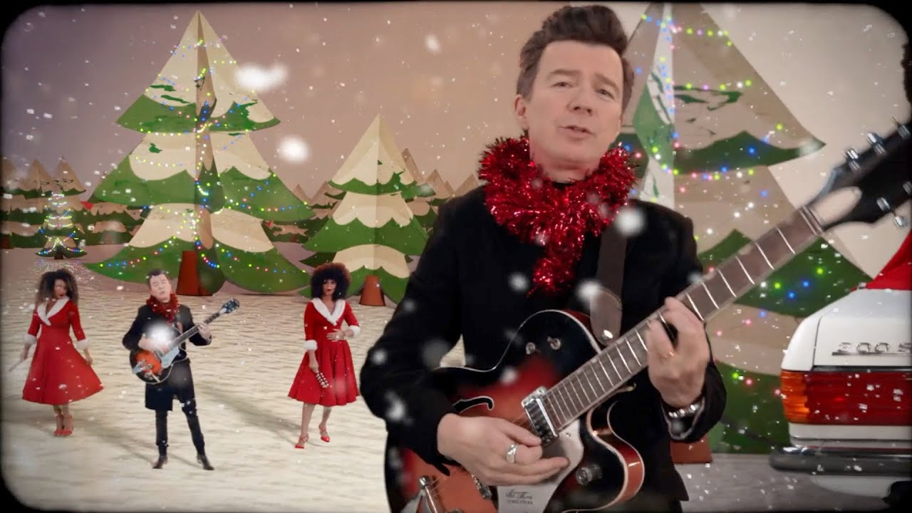 Rick Astley - Love This Christmas (Official Video)