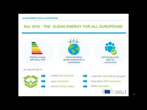 Sustainable Energy Investments Forum: Deployment of Energy Efficient Mortgages in Europe
