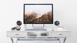 Minimal Desk Setup Tour 2019 - Designer Edition!