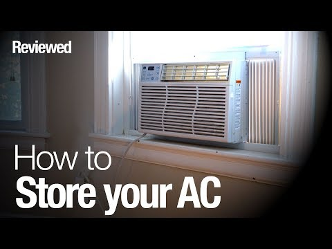 How to store your air conditioner the right way