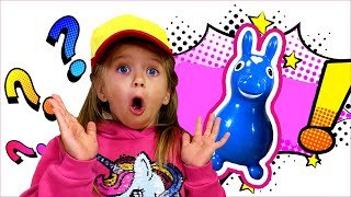 Дарья и весёлые истории про развлечения. Дарья и папа развлекаются с игрушками   История для детей