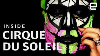 "Inside Cirque du Soleil's innovation lab ""Nextasy"""