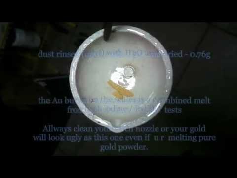 Iodine Iodide GOLD Leach Test Part 2