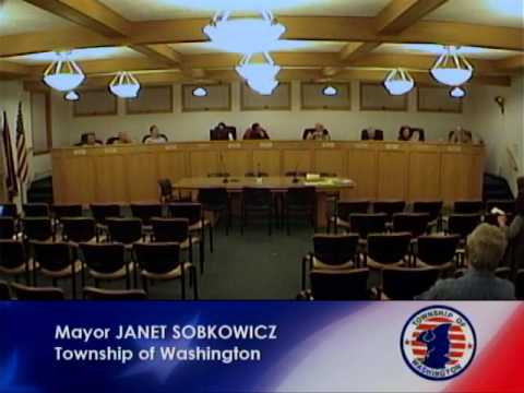 Township of Washington Council Meeting 12.05.16