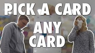 PICK A CARD, ANY CARD!! (Modern Marriage Moments)