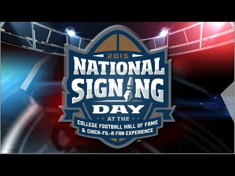 National Signing Day - College Football Hall Of Fame