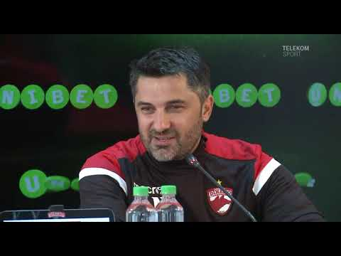 Telekom Sport | Claudiu Niculescu e noul antrenor al lui Dinamo. Aici ai conferința de presă