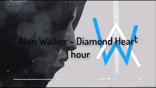 Download lagu Alan Walker Diamond Heart 1 Hour Version MP3