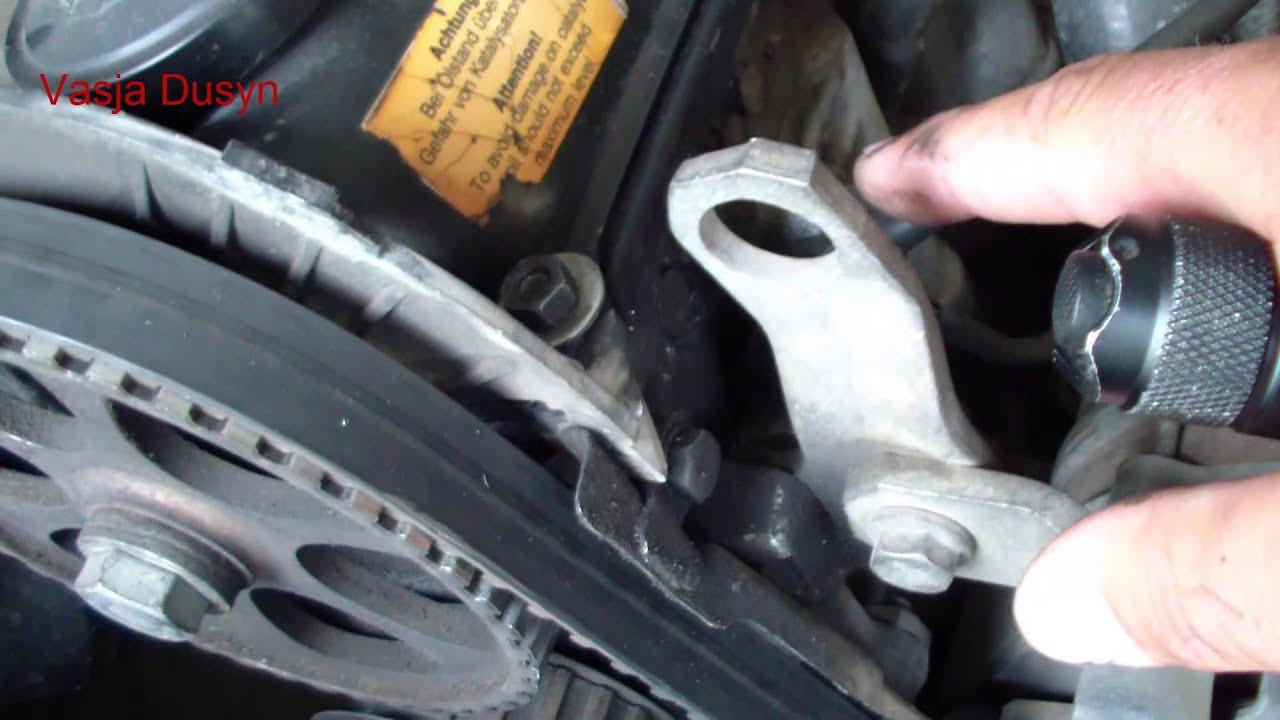 загибает ли клапана при обрыве грм на audi 80 1.9 diesel