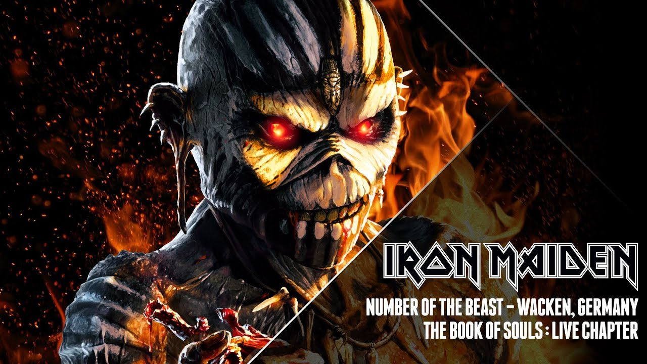 7be0d727 Iron Maiden - Number Of The Beast (The Book Of Souls: Live Chapter ...