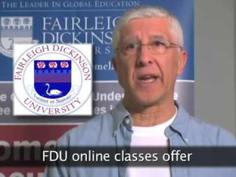 FDU Master of Administrative Science Degree: Joe Roman