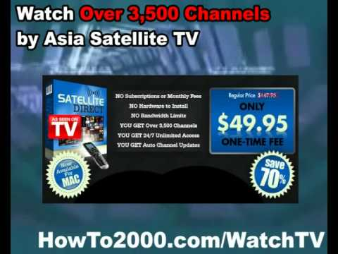 Asia Satellite TV | Watch Over 3500 Channels!