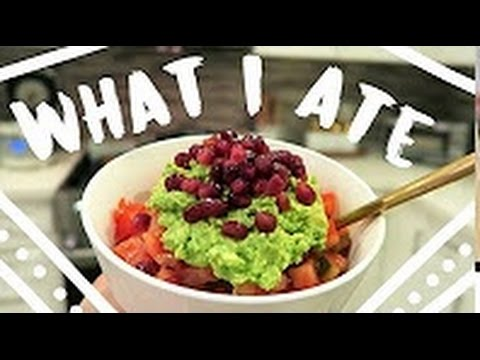 WHAT I ATE TODAY [VEGAN!]
