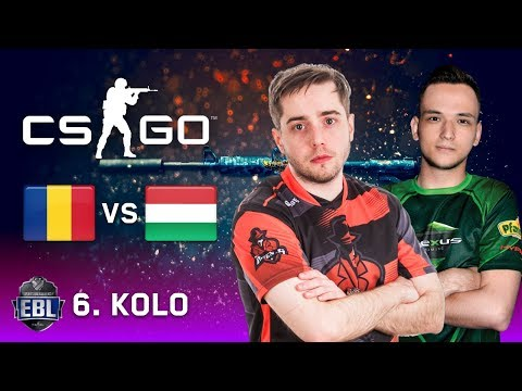EBL CS:GO LIGA [20.000 EUR] - 6. kolo - Nexus (Rumunija) vs Game Agents (Mađarska)