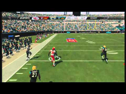 Ace Sanders 109 Yard Kick Return TD