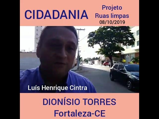 Projeto ruas limpas - 08/10/2019